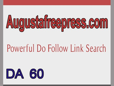 Blogger Outreach & Links Building Services   DA 60