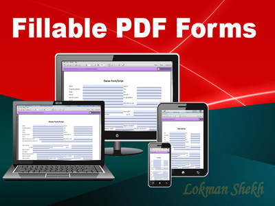 Convert to A Fillable Pdf Form Fast