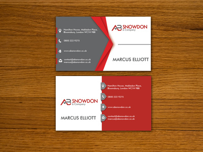 Design Creative And Minimal Business Card