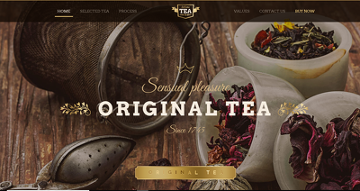 Build a Tea or Coffee eCommerce Store Website