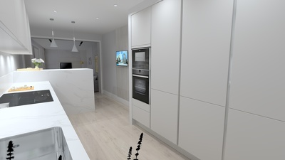 Desgin your kitchen with 3d renders using Winner Compusoft ...