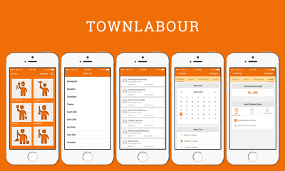 Home Services mobile app for iPhone