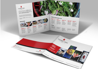 Design a clean, modern brochure