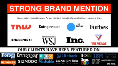 sTRONG BRAND MENTION : PR + guest Post forbes business.com b2c