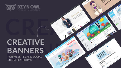 Design a creative banner for your website /any social media page