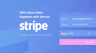Integrate SEPA Direct Debit Payments with Sources - Stripe