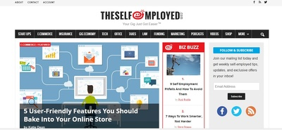 Guest Post Theselfemployed.com News Site DA 47 Business Tech Tax
