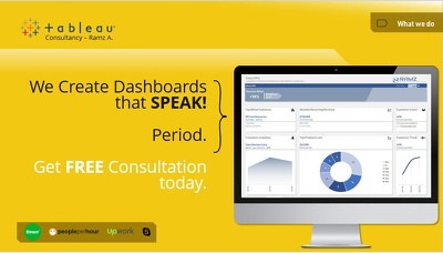 Create Tableau Dashboards (Discount)