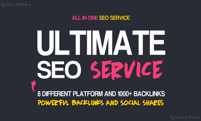 All In One Ultimate SEO Service - Tested WhiteHat SEO Method