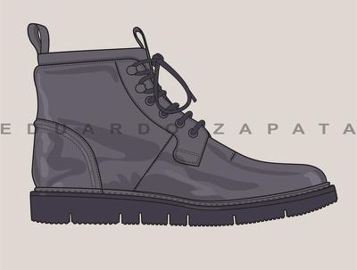 Create a shoe sketch