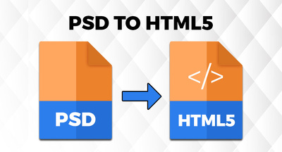 Convert PSD into responsive HTML Webpage / Emailpage