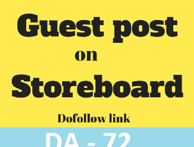 Publish HQ Guest Post on Storeboard, Storeboard.com DA-72