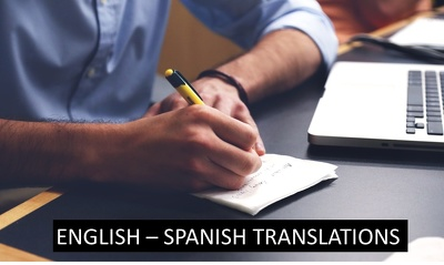 Translate 1,000 words from English to Spanish