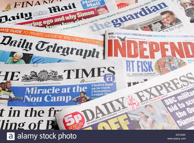 Get 30 or 60 links from TOP Newspaper Directory Sites in the UK