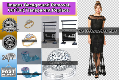 remove Background & Cut Out 10 Photos in 3 Hours