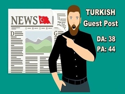 Write and publish guest post on Dofollow Turkish blog - DA38
