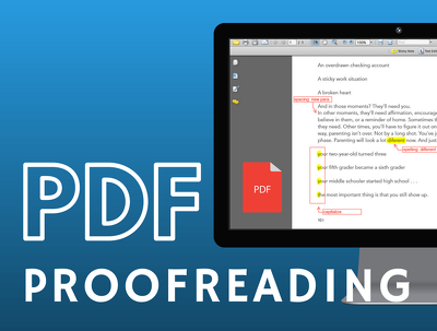 expertly proofread any PDF file