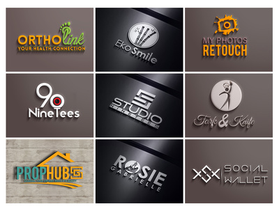 high End Professional Logo Design with free source file