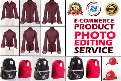 Remove background and retouch 25 product images for amazon, ebay