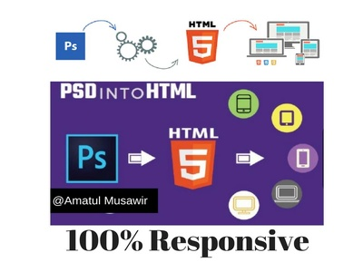 Convert Your Psd Into Stunning Html Responsive