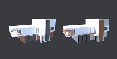 REDESIGNED YOUR PROJECT FACADE IN 3D MODEL