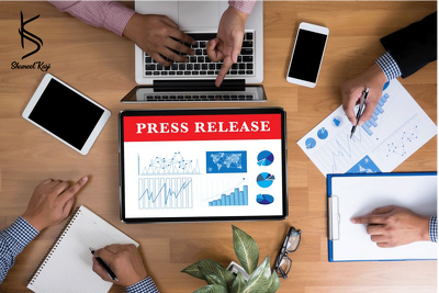 Write a 400 words press release for your brand