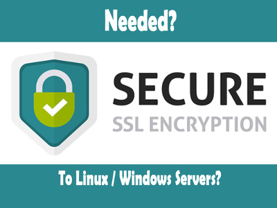 Install SSL certificate for your severs & Websites