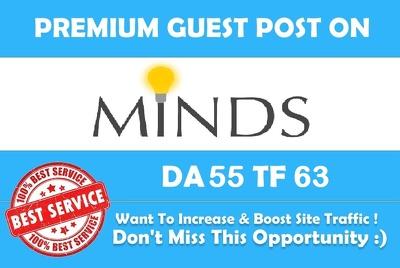Write & Publish a HQ guest post on Minds.com