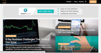 Guest post on Businesscomputingworld.co.uk Tech website - DA 53