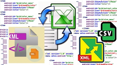 Convert XML files into Google sheets, CSV or XLSX file