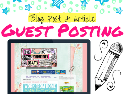 Share Your Article On My Blogspot Blog The Mommy Diary