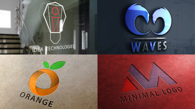 Design A Minimal Logo With Unlimited Revisions Within 24 Hrs