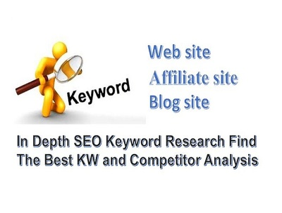Depth SEO Keyword Research Find The Best KW And Competitor