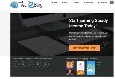 Publish a guest post on Tech 2 Blog - Tech2Blog.com DA61, PA40