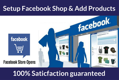 Setup Facebook Shop Store And Add Products