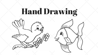 Provide hand Drawing and bubble text writing in 24 hours