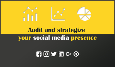 Audit and strategize your social media presence