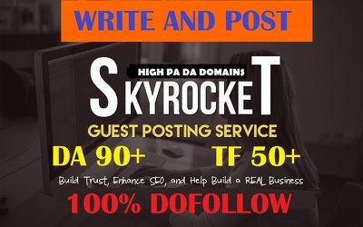 Guest Post On Da 90 Plus With Traffic 2.7M Dofollow TF82 Link