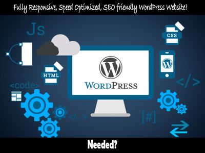 develop responsive, speed optimized, SEO friendly WordPress Site