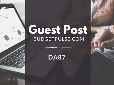 Guest Post on BudgetPulse.com DA52  Blogger Outreach