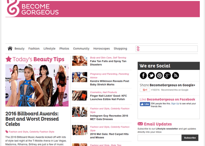 Publish A Guest Post On Become Gorgeous Fashion And Beauty Blog