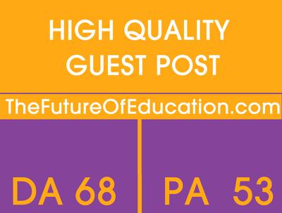 Guest Post On Futureofeducation.com - Futureofeducation DA 68