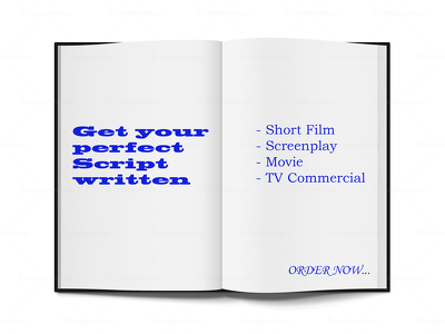 Write script for short film, screenplay or movie