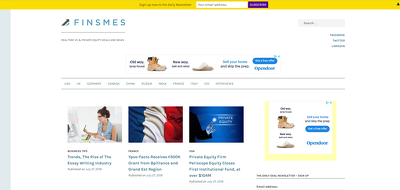 Guest post on Finsmes – Finsmes.com – DA 55 – Do follow