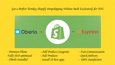 Do Dropshipping Shopify Store and Custom Coding