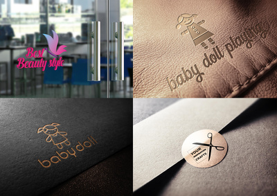 Bespoke logo+6 Concept+Unlimited Revision+Source File+stationary