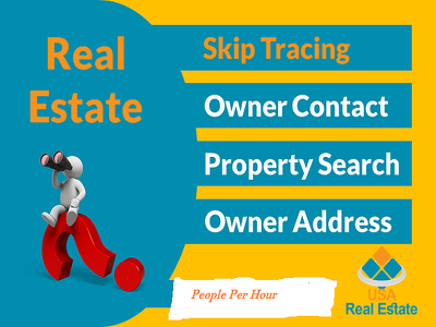 Property Record Search,Skip Tracing For Real Estate Business