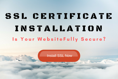 Install The SSL Certificate to your website