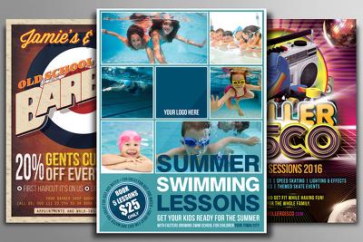 Design Premium Quality Flyer, Leaflet or Poster Template