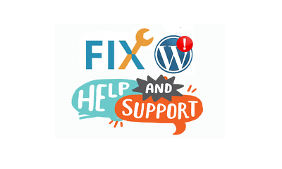 Get any WordPress Issue/Problem fixed in 12 hrs